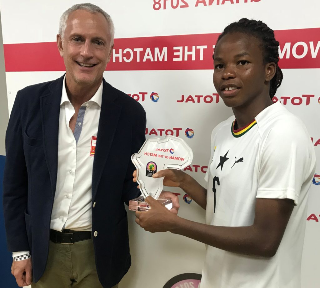 AWCON 2018: Sherrifatu Suleiman adjudged player of the match in Ghana\'s win over Algeria