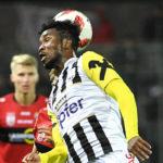 VIDEO: On-loan LASK Linz striker Samuel Tetteh scores season's first league goal in Austria