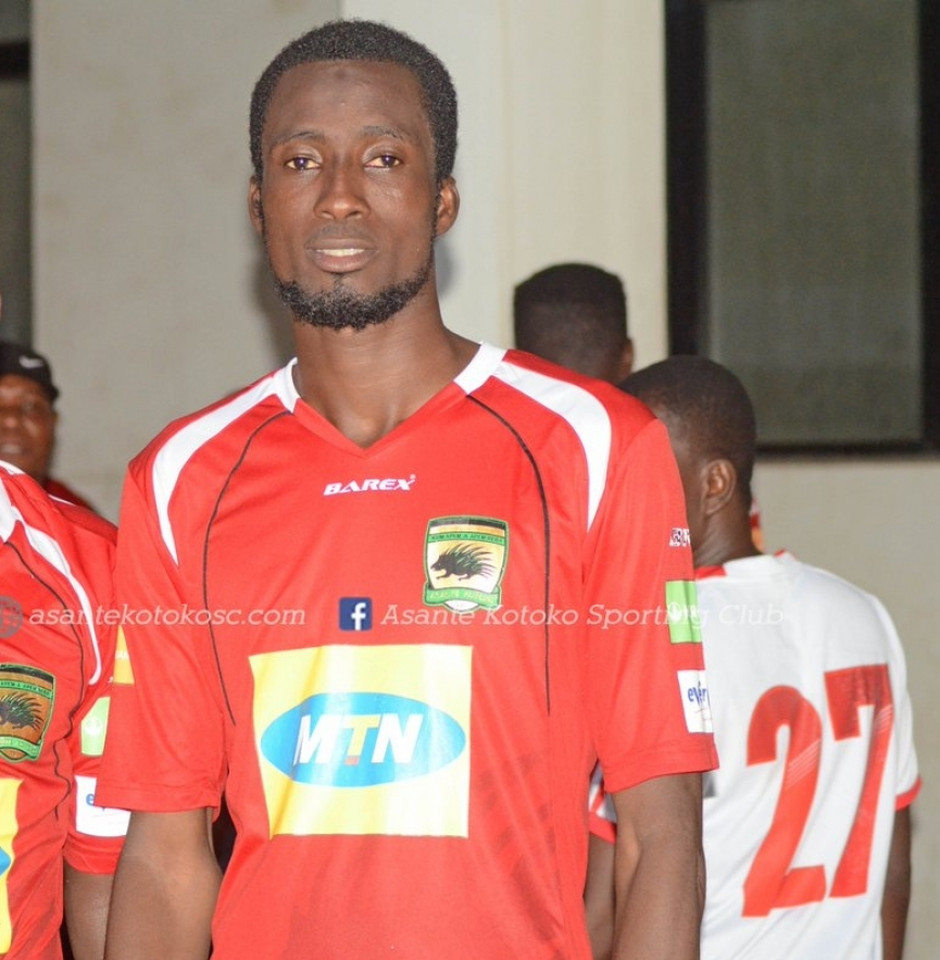 CAF Confederation Cup: Asante Kotoko midfielder Umar Basiru sets sights on Kariobangi Sharks scalp