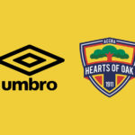 Hearts of Oak kits from UMBRO arrives