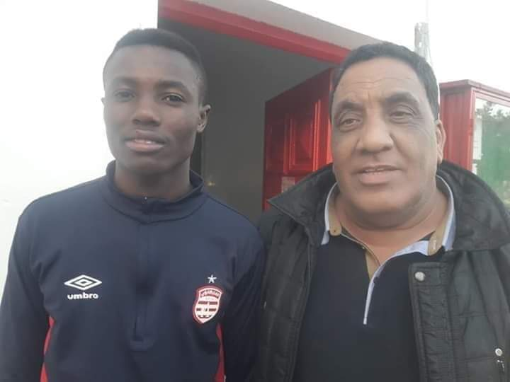 Ghana's Richard Danso arrives in Tunisia ahead Club Africain move