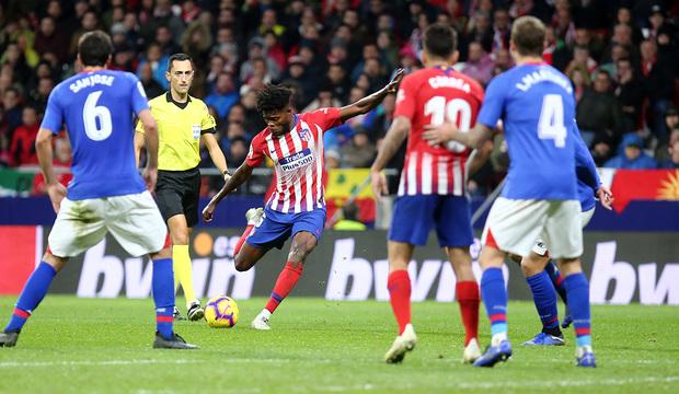 VIDEO: Thomas Partey's CRACKING strike against Athletic Bilbao ranked as La Liga Goal of the Week
