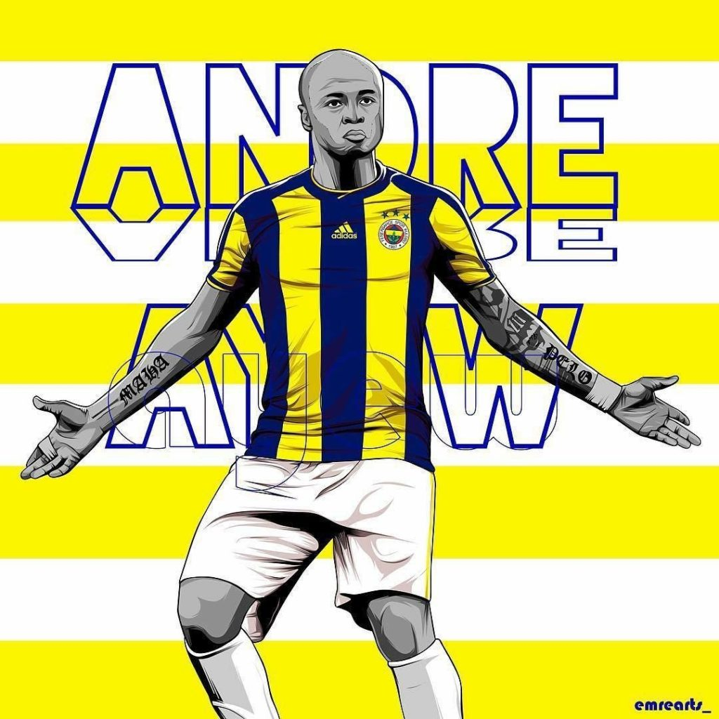 Video: Confusion over Andre Ayew 'goal' as Fenerbahce defeat Anderlecht