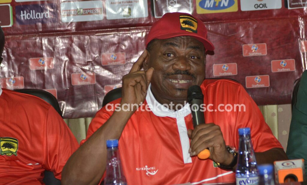 CAF Confederation Cup: Asante Kotoko are not scared of Kariobangi Sharks - George Amoako