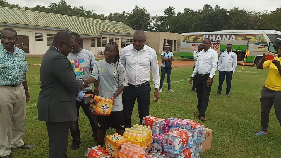 2018 AWCON: Ghana Olympic Committee (GOC) donates to Black Queens ahead of tournament