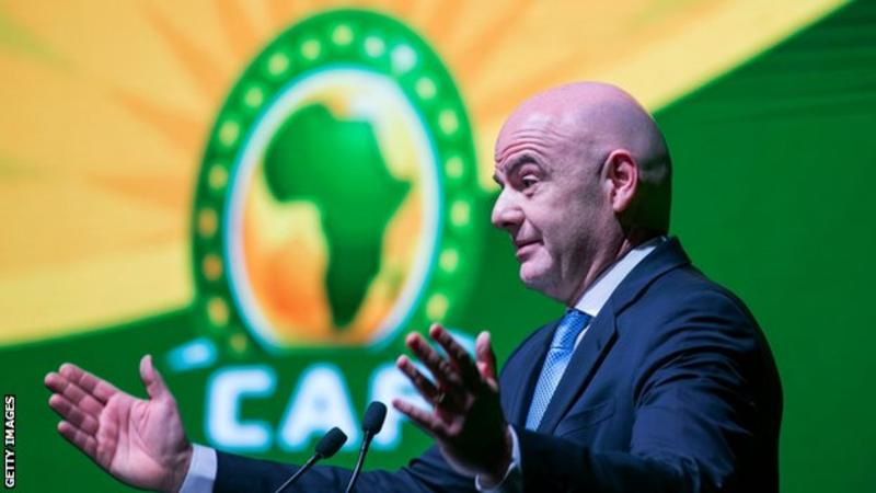 African FAs, Caribbeans back under-fire FIFA President Infantino over 'slandering' Football Leaks