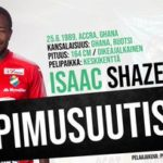 Ghanaian midfielder Isaac Shaze joins Finnish side Kokkolan Pallo-Veikot