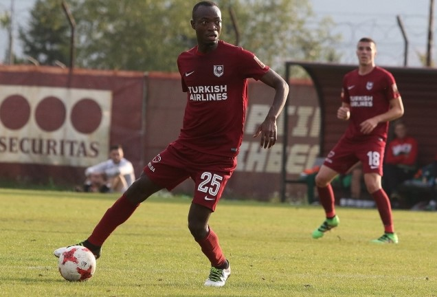 Ghana's Joachim Adukor finally receives medals after winning Bosnian league with FK Sarajevo