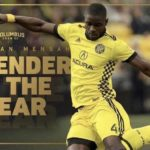Jonathan Mensah excited after winning Columbus Crew Defender of the Year award