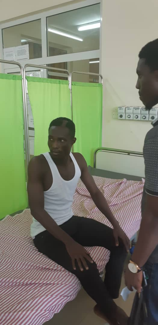 Medeama SC captain Joseph Tetteh-Zutah involved in minor motor accident, midfielder discharged from hospital