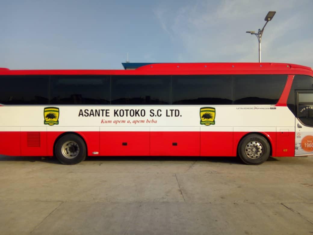 Asante Kotoko handed new bus ahead of CAF Confederation Cup campaign