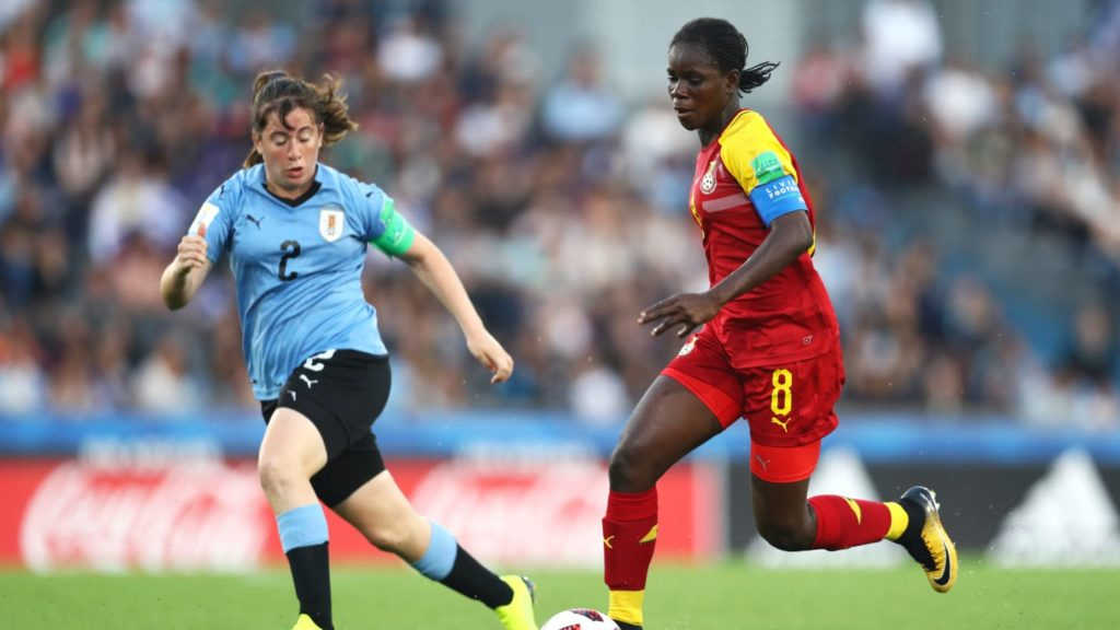 FIFA U-17 WWC: Ghana thrash hosts Uruguay 5-0 with captain Mukarama Abdulai bagging a hat-trick