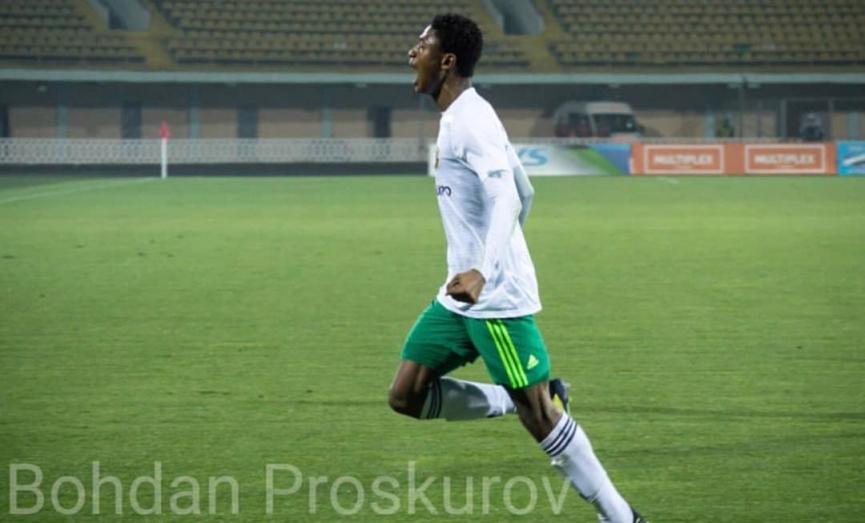 Ghanaian defender Najeeb Yakubu scores debut goal for Vorskla Poltava in Ukraine