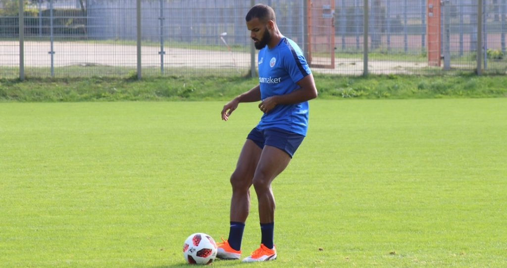 Ghana international Ofosu-Ayeh resumes full training at Hansa Rostock after injury lay-off
