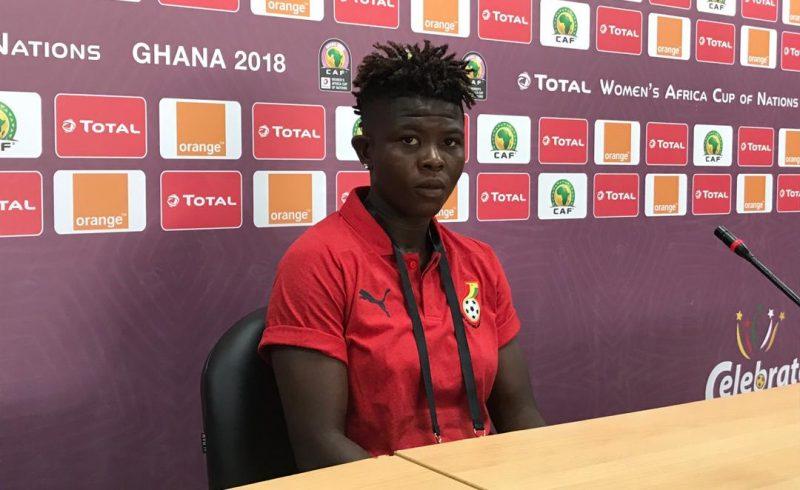 AWCON 2018: Black Queens winger Priscilla Okyere full of confidence ahead of Mali clash