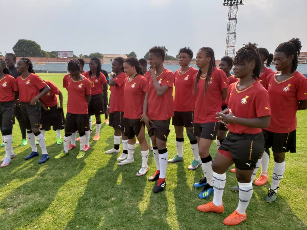 VIDEO: Watch the Black Queens final training session ahead of Mali clash