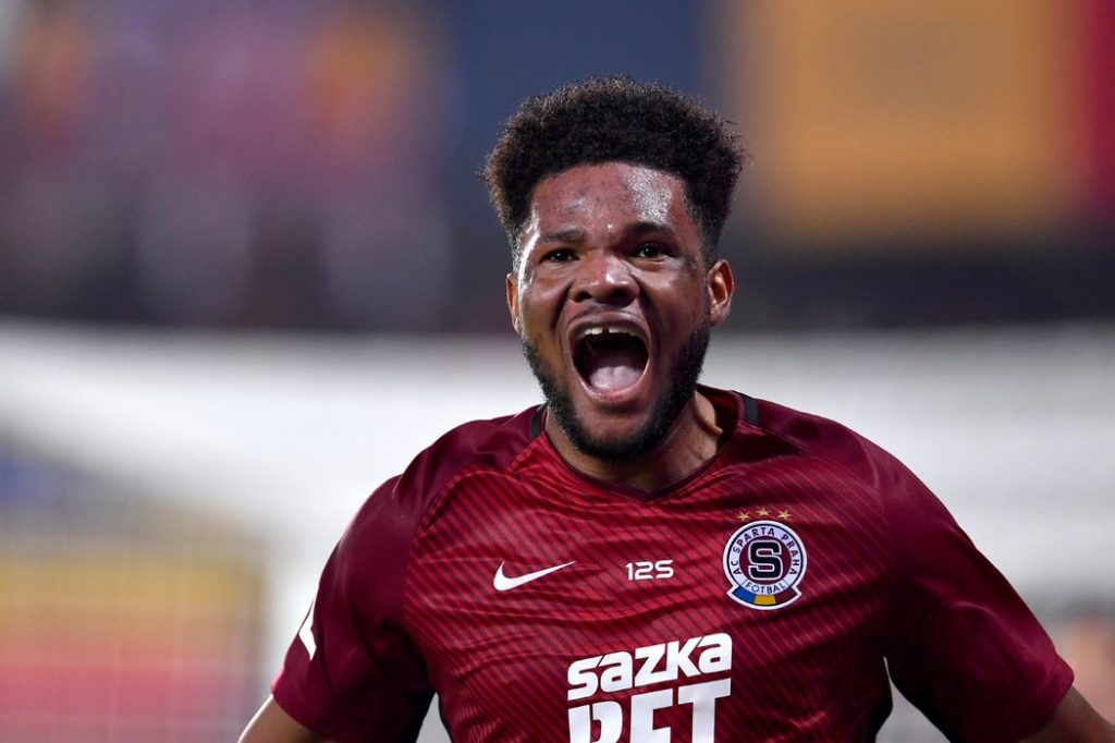 Video: Ghana striker Benjamin Tetteh hits season's eighth goal in Prague derby
