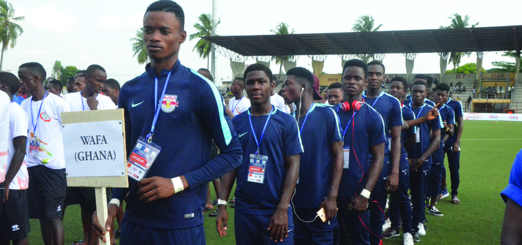 WAFA U17 in Abidjan to play in 2018 Tournoi International Du District Autonome tournament
