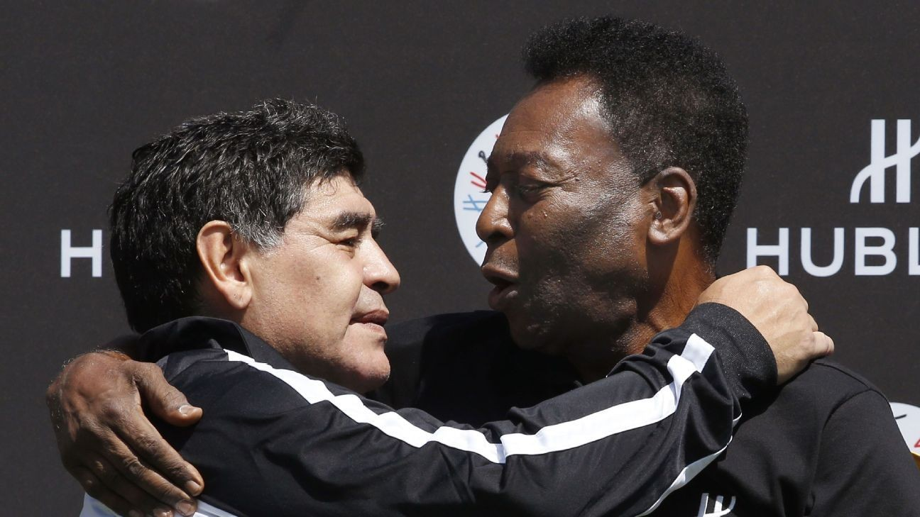 Diego Maradona 'much better' than Lionel Messi who 'only has one skill' - Pele