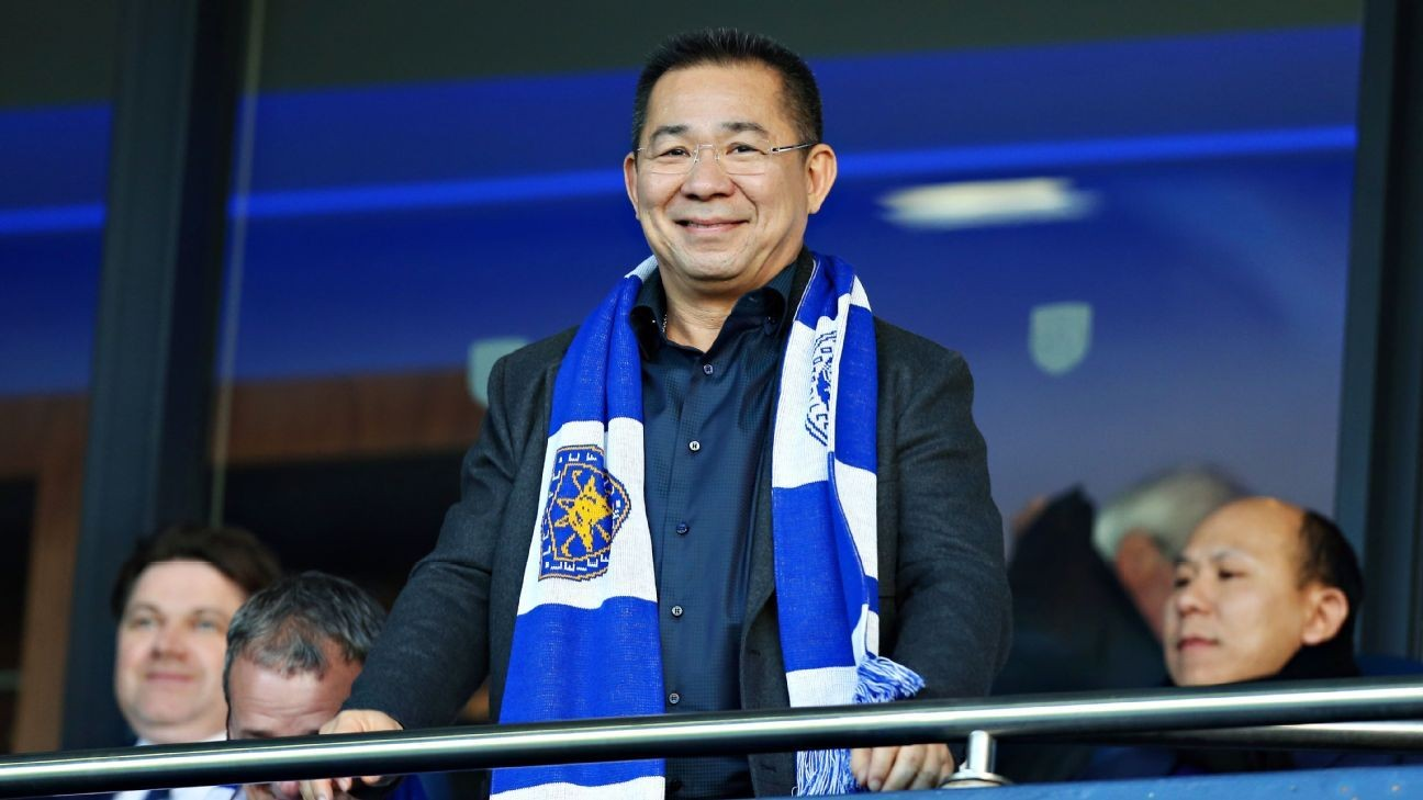 Leicester owner Vichai Srivaddhanaprabha's death caused by mechanical fault - investigators