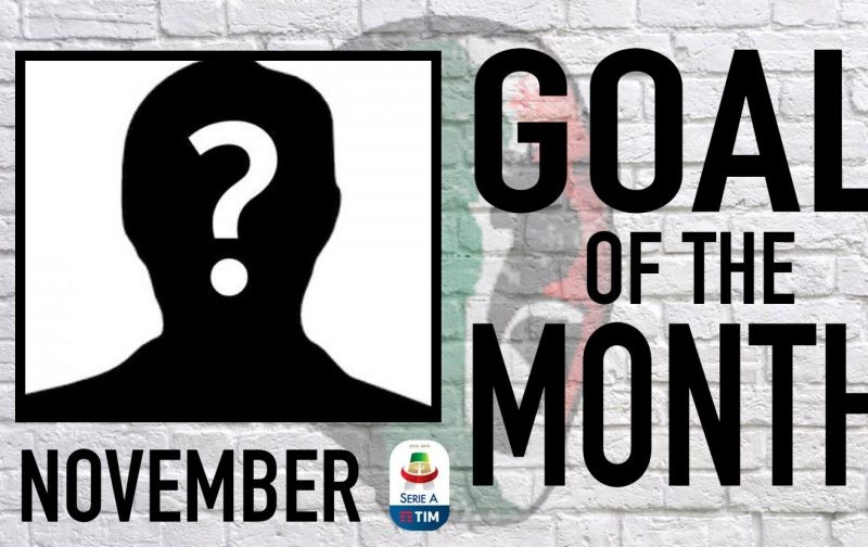 Serie A Goal of the Month | November 2018
