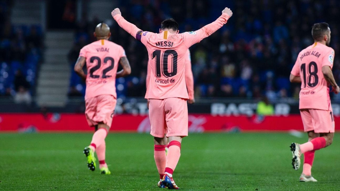 Lionel Messi is 10/10 perfection as Barcelona take derby honours