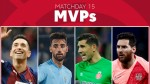 Vote for the MVP of Matchday 15 in LaLiga Santander