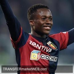 AS ROMA challenge AC Milan and Lazio on Genoa hit KOUAME