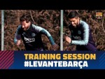Back to work to prepare LaLiga match against Levante