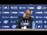 Rueda de prensa de Álvaro Cervera tras el Málaga CF vs Cádiz CF (1-0)