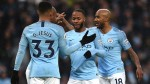 Manchester City's Pep Guardiola hails 'calm' Raheem Sterling after Everton win