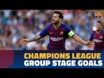 All Barça's goals from group B of the 2018-19 Champions League
