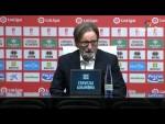 Rueda de prensa de Anquela tras el Granada CF vs Real Oviedo (1-0)