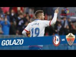 Golazo de Aitor Ruibal (1-2) CF Rayo vs Elche CF