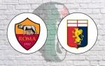 Roma v Genoa: Official Line-Ups