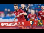 Resumen de CA Osasuna vs AD Alcorcón (2-1)