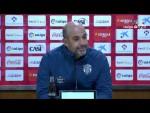 Rueda de prensa de Alberto Jiménez Monteagudo tras el UD Almería vs CD Lugo (1-1)