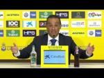 Rueda de prensa de José Luis Oltra tras el UD Las Palmas vs CD Tenerife (1-1)