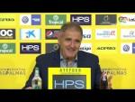 Rueda de prensa de Paco Herrera tras el UD Las Palmas vs CD Tenerife (1-1)