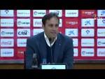 Rueda de prensa de Fran Fernández tras el UD Almería vs CD Lugo (1-1)