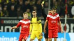 Borussia Dortmund stunned by Fortuna in first league loss this term