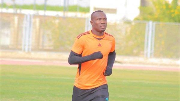 John Antwi begins training after injury scare at El-Mikassa