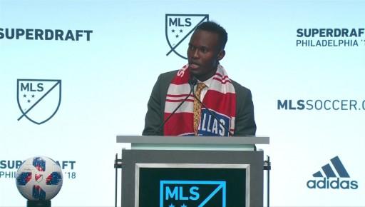 FC Dallas forward Francis Atuahene to give back to community through Dallas Foundation