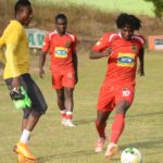 PHOTOS: Asante Kotoko training at the Dawu Park ahead of Confederation Cup