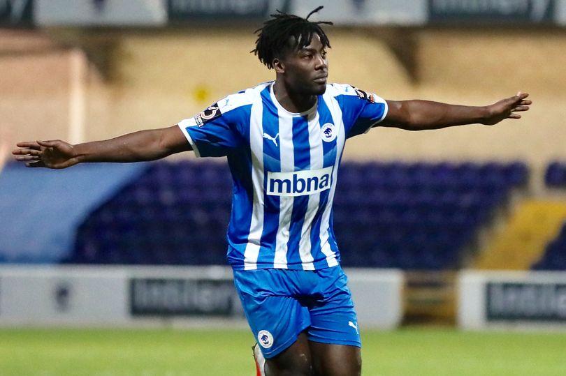Chester joint manager Anthony Johnson hails hat-trick hero Akwasi Asante