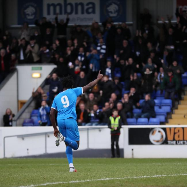Ghanaian striker Akwasi Asante bags hat-trick in memorable Chester debut