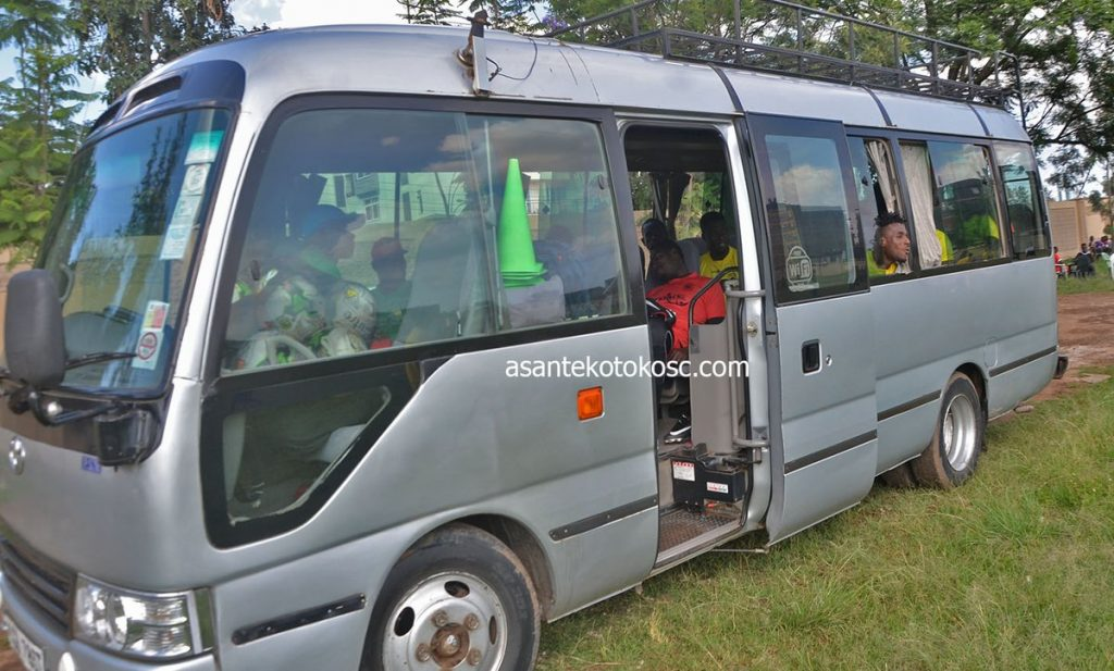 CAF CONFED CUP: Asante Kotoko SC turns down bus and venue offered by Kariobangi Sharks