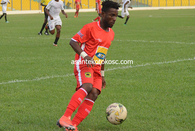 Kotoko midfielder Maxwell Baako eyes CAF Inter-Club competition trophy