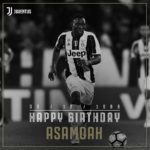 Inter Milan star Kwadwo Asamoah gets birthday wish from former club Juventus