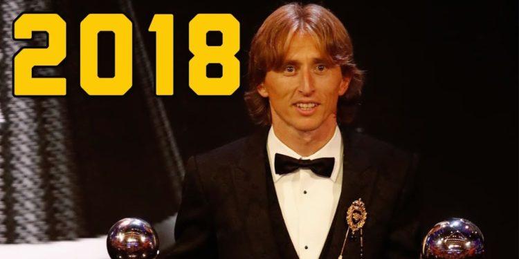 Luka Modric wins 2018 Ballon d'Or ahead of Cristiano Ronaldo; Lionel Messi 5th